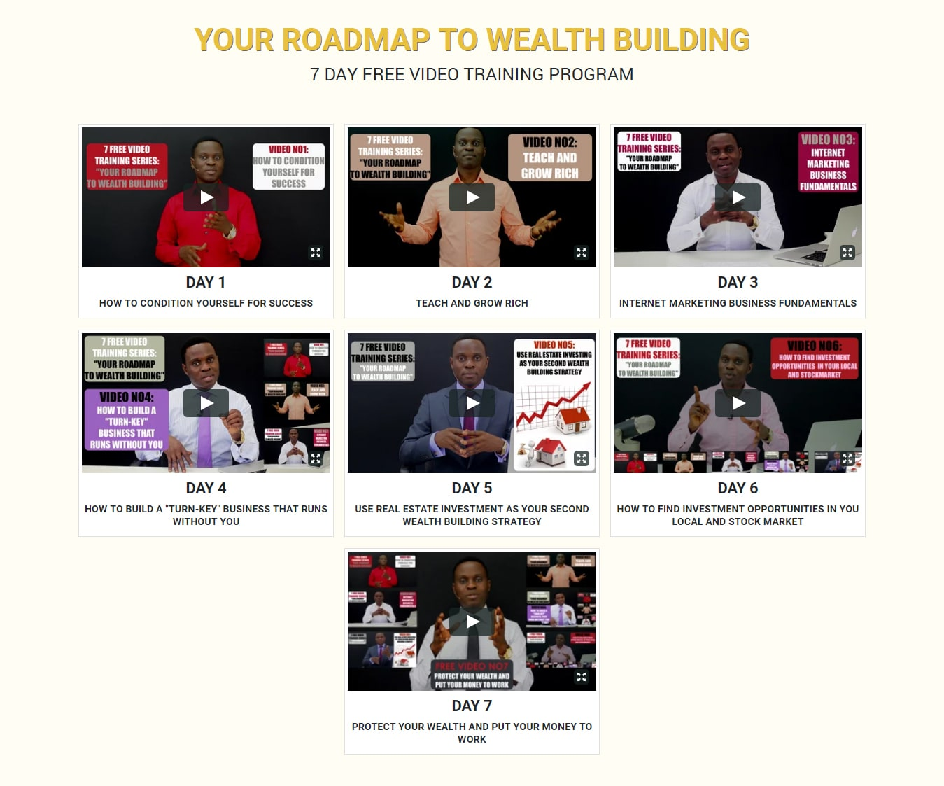 Your Roadmap to Wealth Building